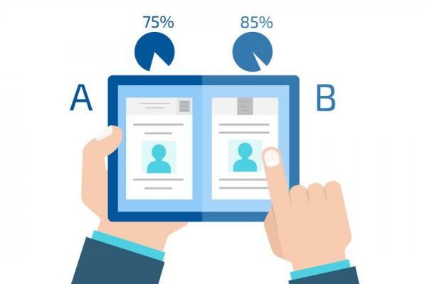 A/B-Test bei Lead-Formularen