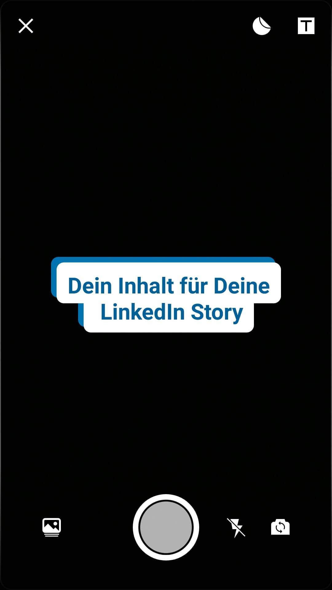 LinkedIn Story erstellen