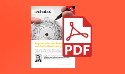 Whitepaper: Reichweite und Zugriffszahlen von Onlinemedien