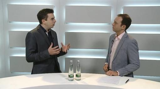 Bastian Karweg bei Wirtschaftsspiegel TV