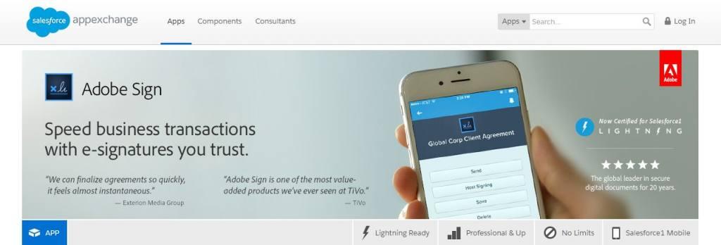 5 interessante Vertriebs-Apps für Salesforce | Echobot