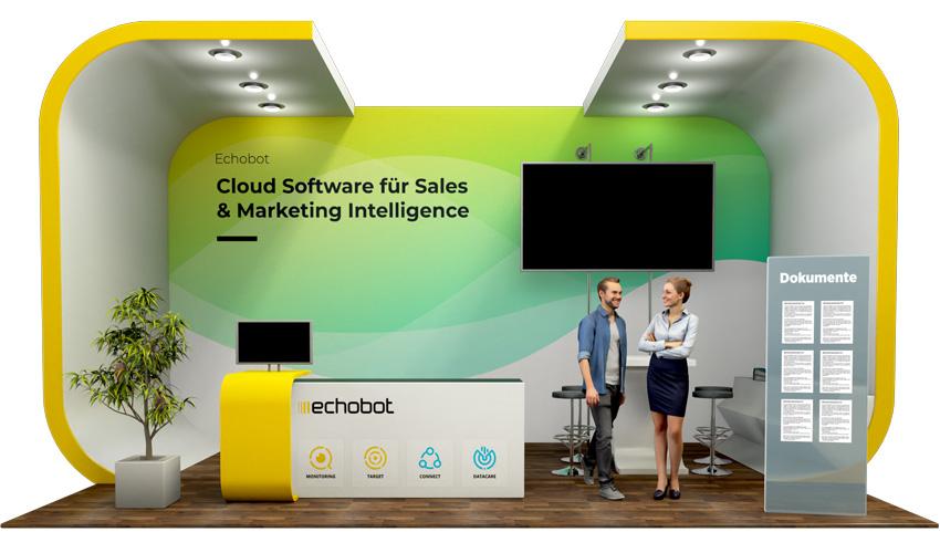 Echobot auf dem Deutschen Wirtschaftsforum digital_