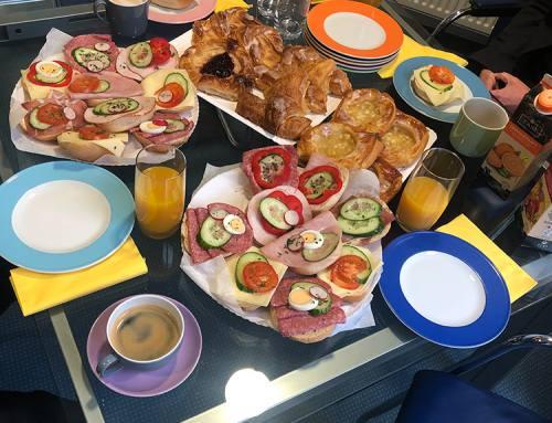 Gewinner der Kundenumfrage 2019: Abteilungsfrühstück bei Ritex