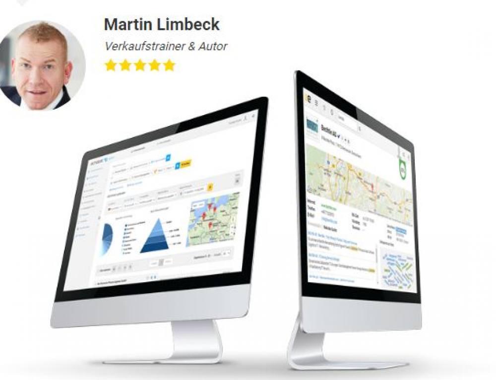 Echobot Kooperation mit Verkaufstrainer Martin Limbeck