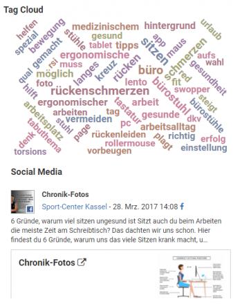 TagCloud Social Media