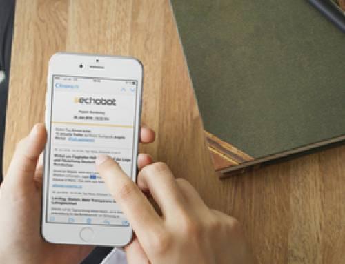 Mobiler Pressespiegel: E-Mail-Alert optimiert für Smartphones!