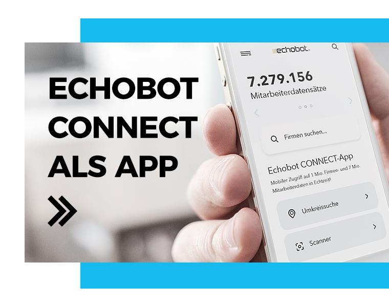 Echobot CONNECT als APP