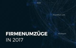 Firmenumzüge in Deutschland analysiert