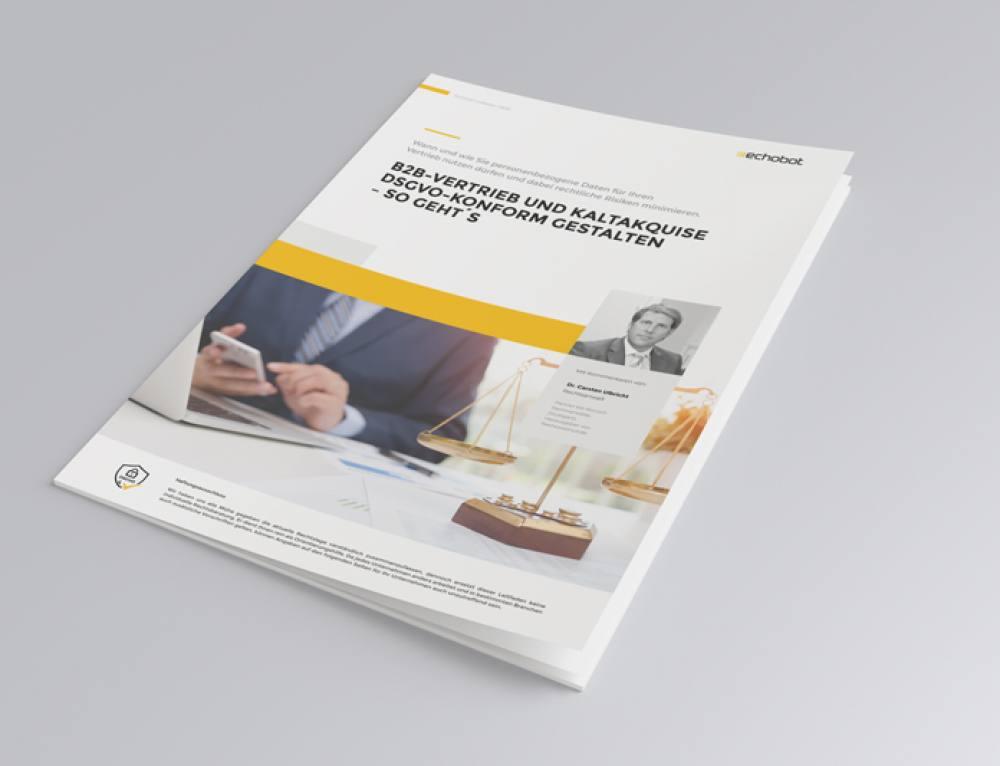 Jetzt verfügbar: DSGVO-Leitfaden für B2B-Vertrieb und Kaltakquise