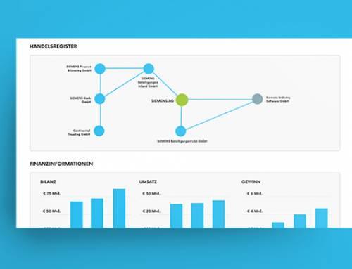 Finanzkennzahlen und Handelsregisterdaten mit Echobot CONNECT