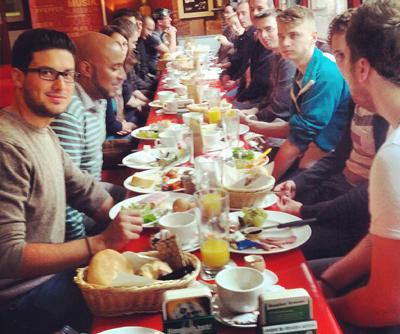 Quartalsfrühstück