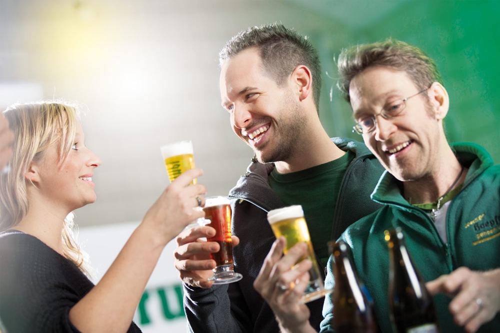 Bierprobe - Privatbrauerei Hoepfner