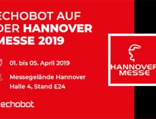 Echobot auf der Hannover Messe: Highlights und Termine