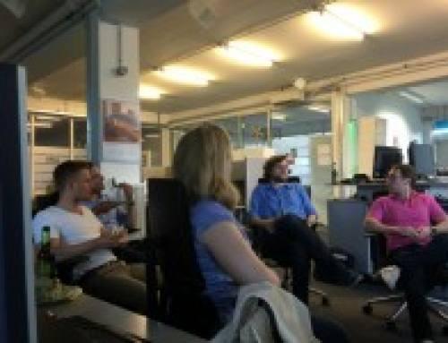 Marketing-Club Karlsruhe zu Gast bei Echobot