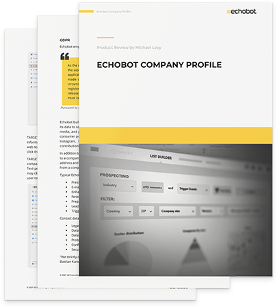 Echobot Product Review
