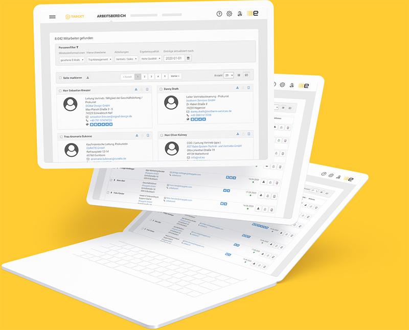 Echobot Mitarbeiterdatenbank