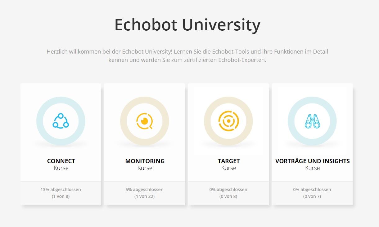Echobot University