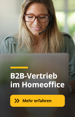 B2B-Vertrieb im Homeoffice