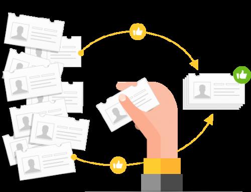 Echobot Mitarbeiterdatenbank: Entscheider und Ansprechpartner auf Knopfdruck
