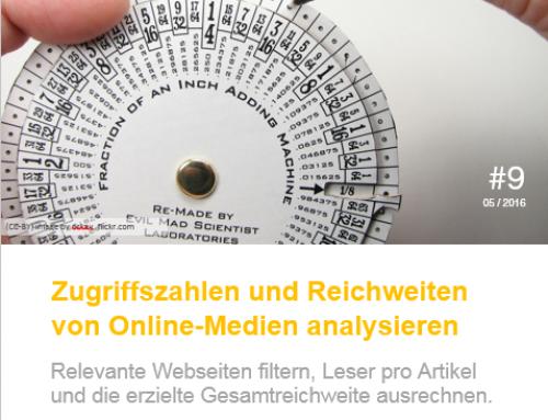 Reichweite und Zugriffszahlen von Onlinemedien – Whitepaper #9