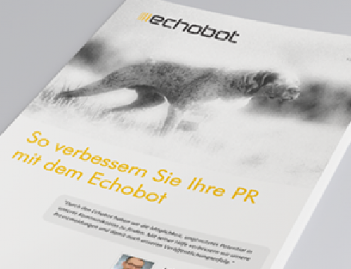 Verbessern Sie Ihre Online-PR mit Echobot – Whitepaper #1