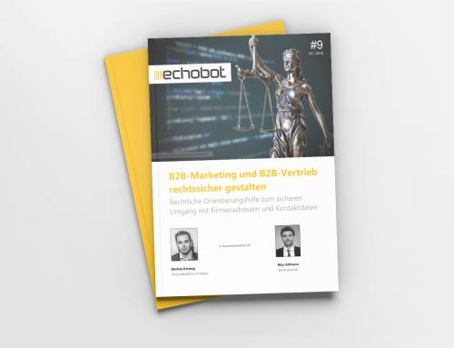 B2B-Marketing und B2B-Vertrieb rechtssicher gestalten – Whitepaper